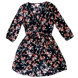 Band Of Gypsies Floral High-Low Dress Women's M